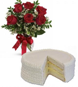 consegna-torta-torta-alla-crema-con-sei-rose-rosse