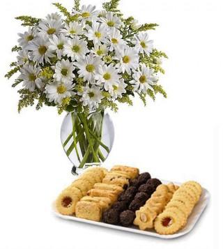 consegna-torta-biscotti-con-margherite