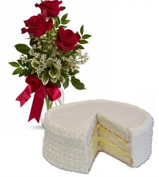 consegna-torta-torta-alla-crema-con-tre-rose-rosse