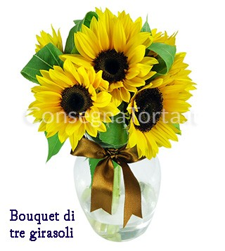 bouquet-tre-girasoli