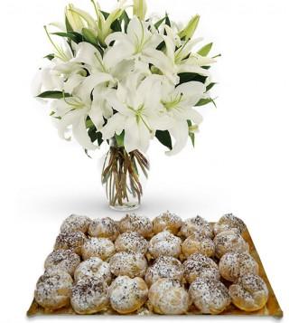 bigne-alla-crema-chantilly-con-bouquet-di-gigli
