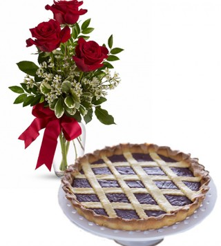 consegna-torta-crostata-alla-nutella-e-rose-rosse