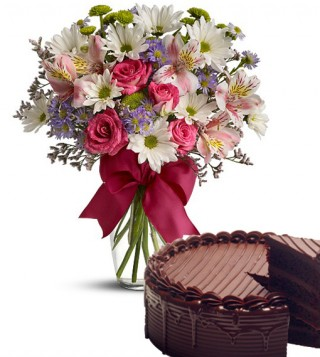 bouquet-beautiful-con-torta-al-cioccolato