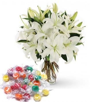 bouquet-di-gigli-con-caramelle
