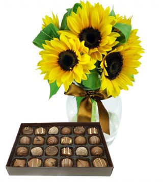 bouquet-di-girasoli-con-scatola-di-cioccolatini