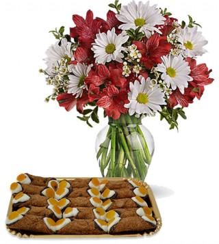 bouquet-di-margherite-e-alstroemerie-con-cannoli