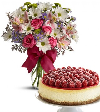cheesecake-con-bouquet-beautiful